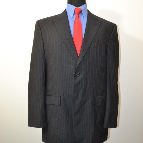 Calvin Klein Other - Calvin Klein 42L Sport Coat Blazer Suit Jacket Bla